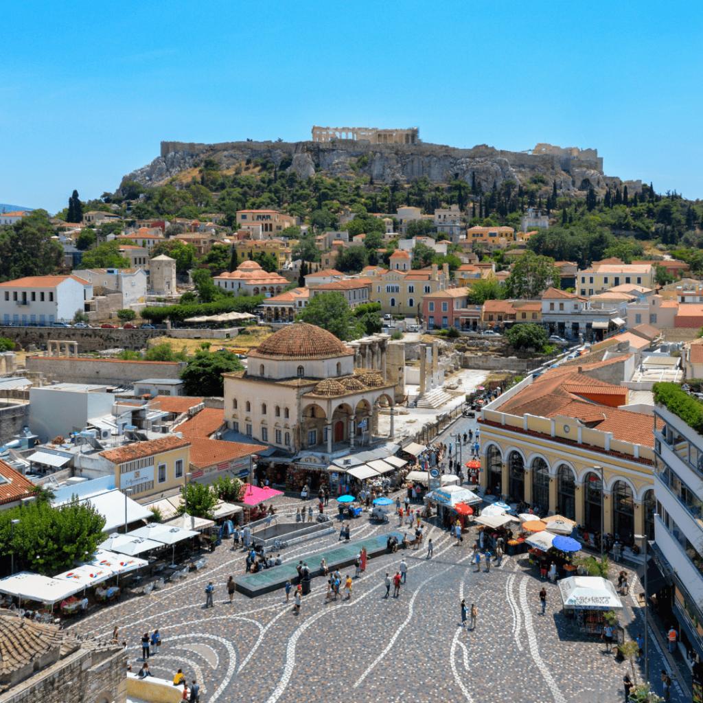 Athene, rolstoelvakantie