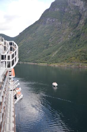 Cruise met zorg, Noorse Fjorden