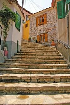 Samos, Griekenland, a tot z reizen