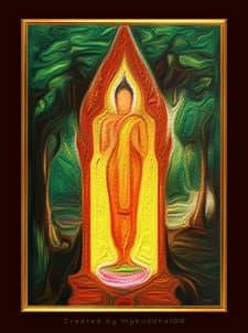 Thailand Boeddha, maandag