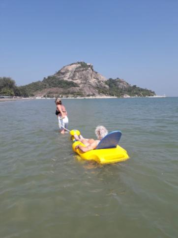 Thailand ook voor mij mogelijk Rolstoelvakantie