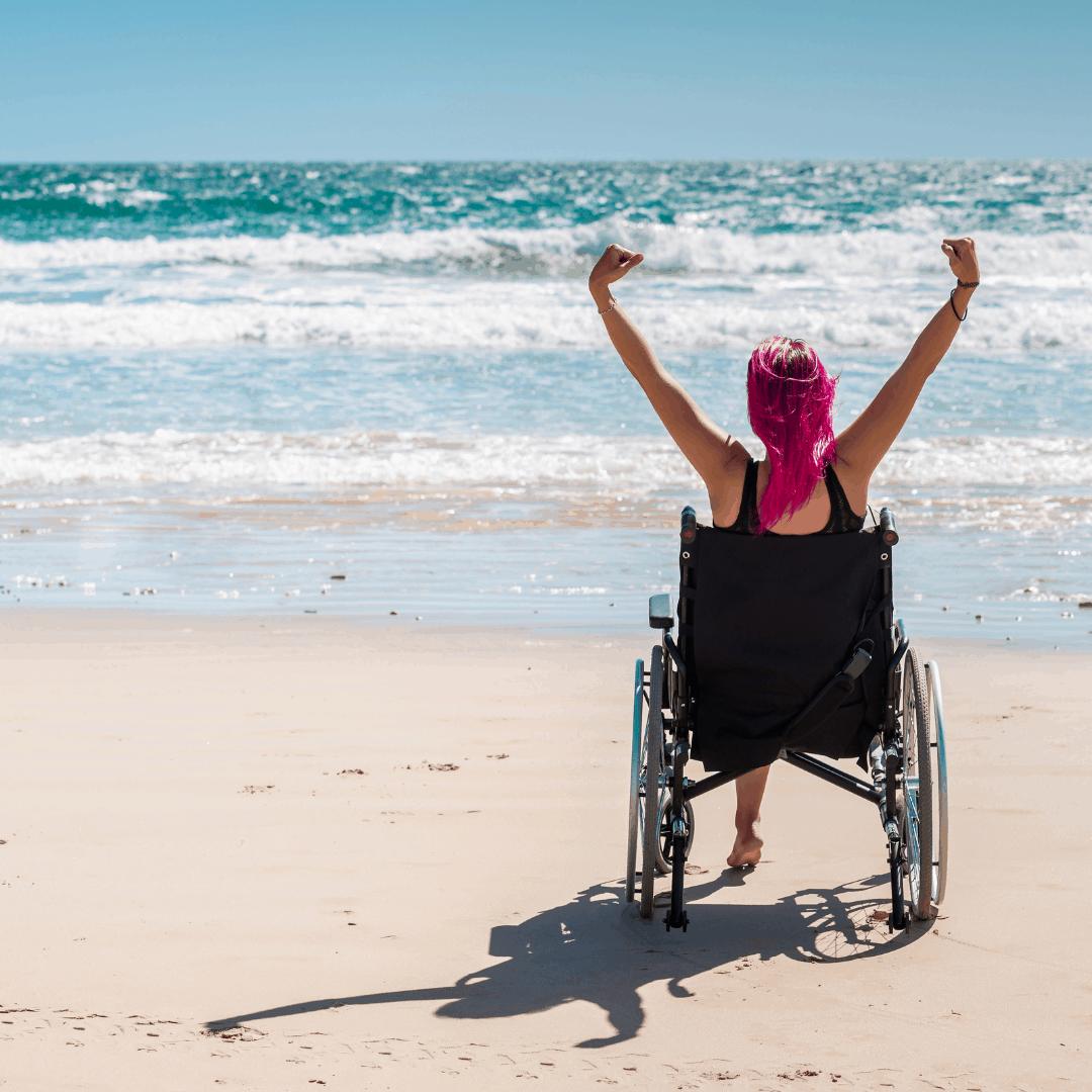 Vakantie rolstoel