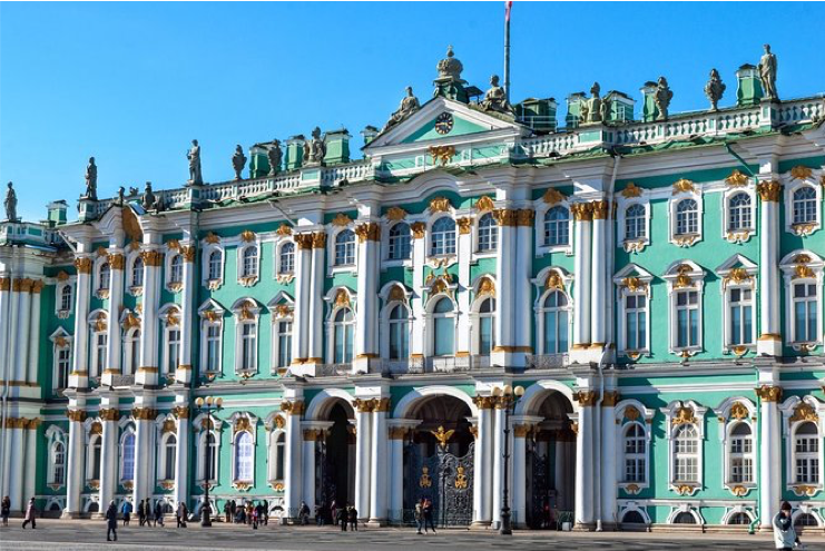Hermitage ~ Sint-Petersburg, cruise met zorg