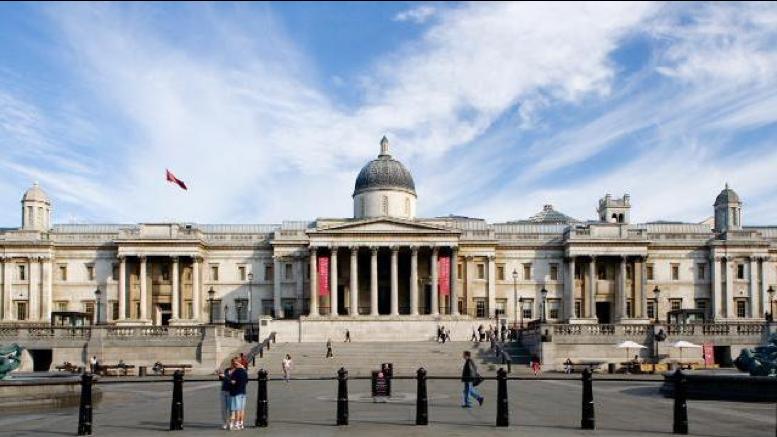 National Gallery ~ Londen, reizen met een rolstoel