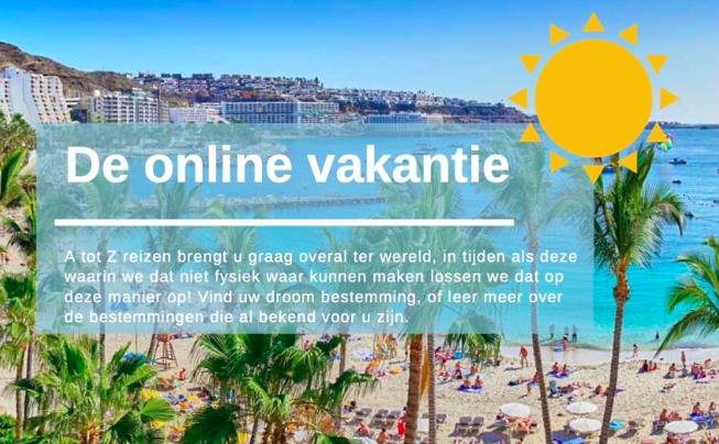 Online vakantiegids, vakantie met zorg