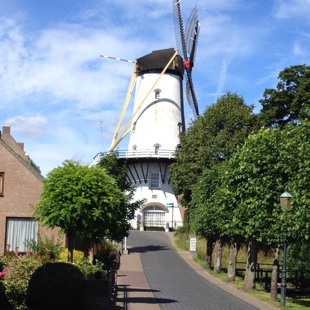 Riviercruise met rollator in Nederland