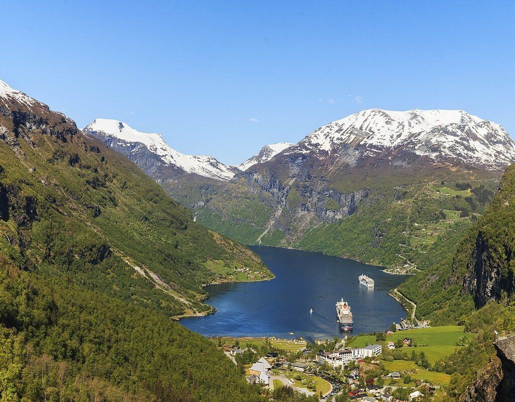 Cruise met rolstoel Noorse Fjorden