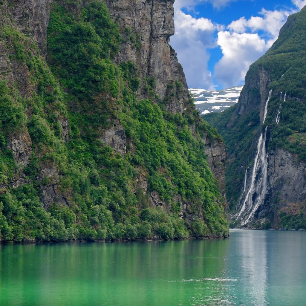 Cruise met zorg naar Noorwegen