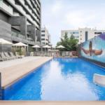 Aangepaste zwembad Madrid