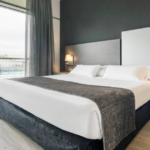Aangepaste hotelkamer Madrid