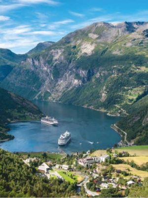 Foto Noorse Fjorden, zorgreis