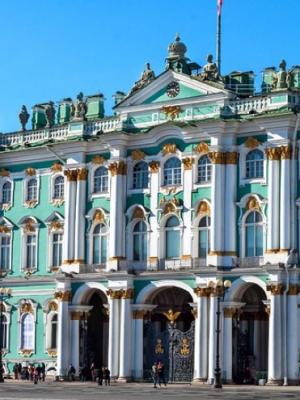 1. Hermitage ~ Sint-Petersburg, cruise met zorg