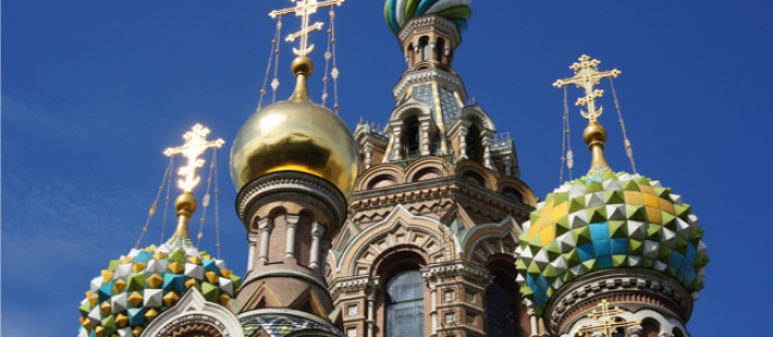 Sint Petersburg tijdens een cruise met zorg