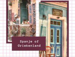 Spanje-of-Griekenland, begeleide reizen