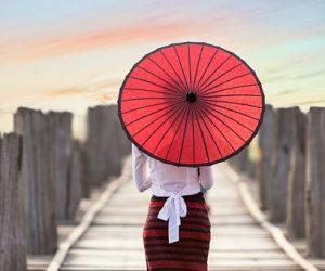 Thailand paraplu, reizen met zorg