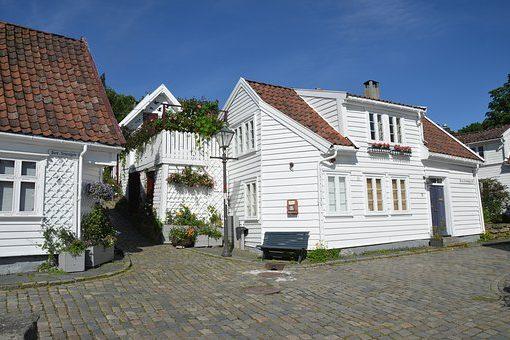 stavanger-witte huisjes
